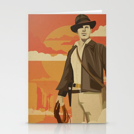 The Archeologist Stationery Cards
