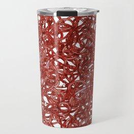 POP ART- RED CABLE Travel Mug