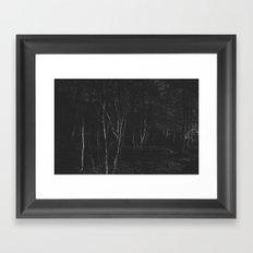 Dark Woodland Framed Art Print