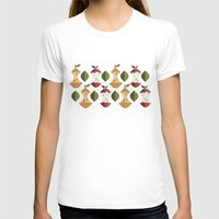 pear T-shirts featuring apple&pear by HailiWY
