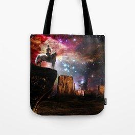 Native American Universe Tote Bag