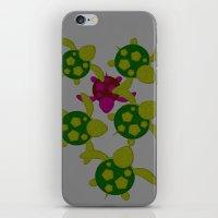 turtles iPhone & iPod Skins featuring Turtles  by MillennialBrake