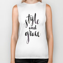 Style and Grace Biker Tank