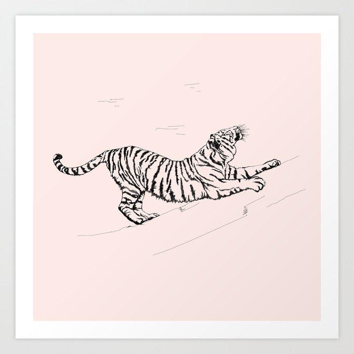 Tiger and Sun I. Kunstdrucke