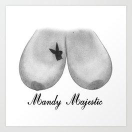 Mandy Majestic Art Print