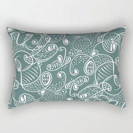 Waving Rectangular Pillow