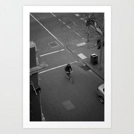 See you in ten minutes. (Queen Street, 2011) Art Print
