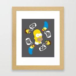 Dental Plan! Framed Art Print