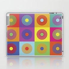 Vinyl Pop Art Laptop & iPad Skin