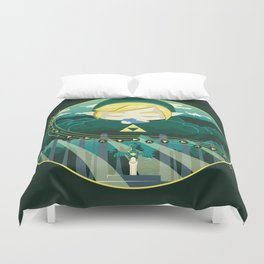 Time Legacy Duvet Cover