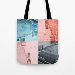 Popart Building Tote Bag