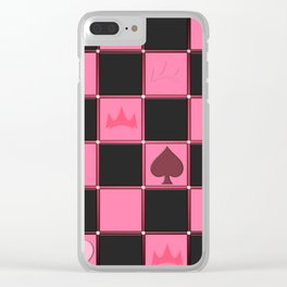 Check....Poker!?!? Clear iPhone Case