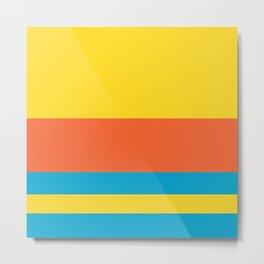 Colours of Bart Metal Print