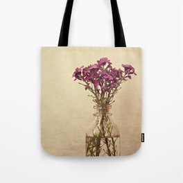 Floral ~ vintage Tote Bag