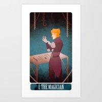 tarot - the magician. Art Print
