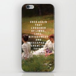 bittersweet and inescapable iPhone Skin