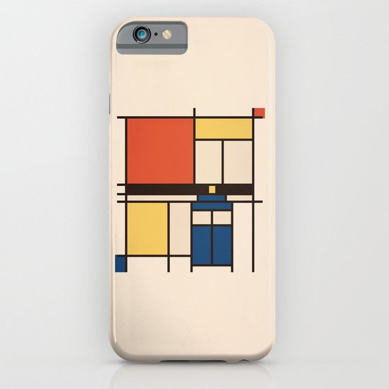 Mondrian Who iPhone & iPod Case