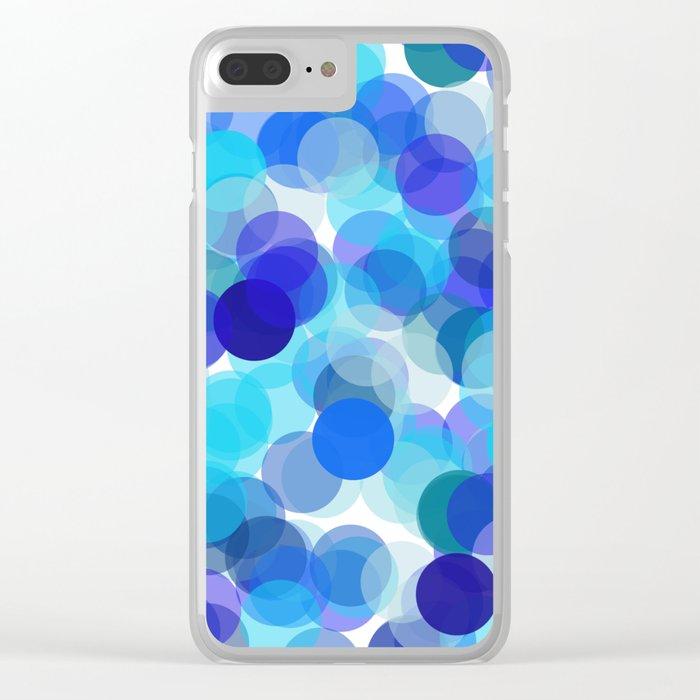 Polka Dot Kaleidescope 1. Clear iPhone Case