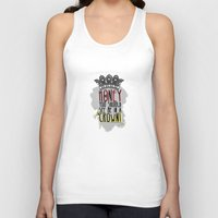 moriarty Tank Tops featuring Moriarty - SHERLOCK by KanaHyde