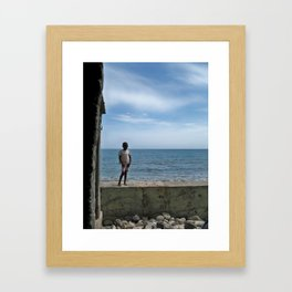 A Moment of Peace Framed Art Print