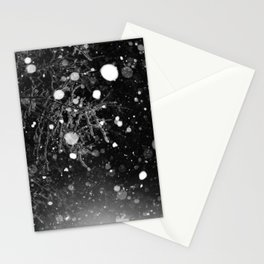 snowy night Stationery Cards