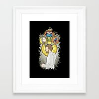 bon iver Framed Art Prints featuring Bon Iver by Giopota