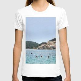 Bathers in Croatia. T-shirt