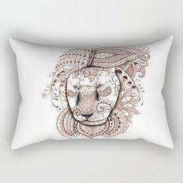 Lion Rectangular Pillow