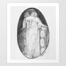 Albus Percival Wulfric Brian Dumbledore Art Print