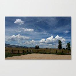 Colorado Sky Canvas Print