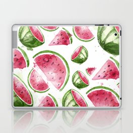 Juicy Watercolor Watermelons Laptop & iPad Skin