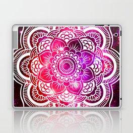 Galaxy Mandala Red Fuchsia Purple Pink Laptop & iPad Skin