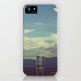 Nothing to Say iPhone Case