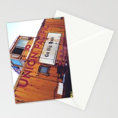 the union pacific caboose Stationery Cards