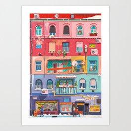 BP fronage winter Art Print