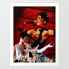 Do it With a Rockstar - Amanda Palmer Art Print