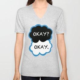 Okay? Okay. (The Fault in Our Stars) Unisex V-Neck