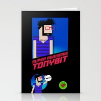 8 bit Stationery Cards featuring 8-bit by EarlyHuman