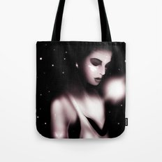 Listening to The Sound of Thunder Tote Bag