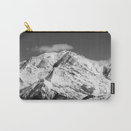 Mt. Blanc with cloud. Carry-All Pouch