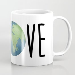 Love The Earth Coffee Mug