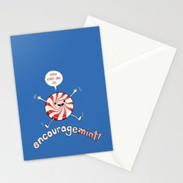 ENCOURAGEMINT (Red Peppermint) Stationery Cards