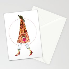 Cool Fashion Girl Stationery Cards