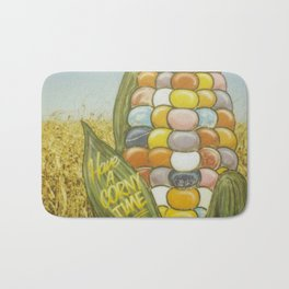 Have a Corny Time Bath Mat
