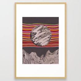 The In Between Framed Art Print