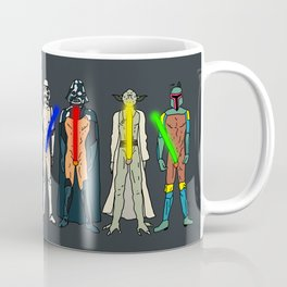 Naughty Lightsabers - Dark Coffee Mug