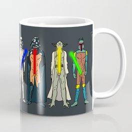 Naughty Lightsabers - Dark Coffee Mug