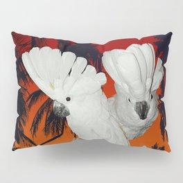 Tropical Umbrella Cockatoos A314 Pillow Sham