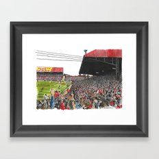 LAST EVER GOAL Framed Art Print