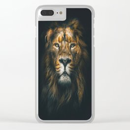 Lion ,animal Clear iPhone Case